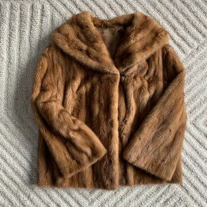 Mink Fur Coat, Medium
